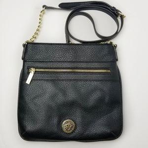 Ann Klein Faux Leather Crossbody Bag New